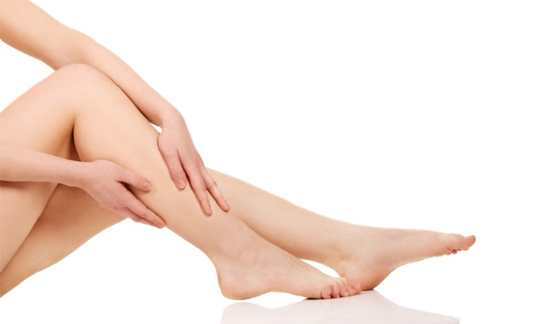 Water retention in the legs